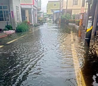 東港大潭逢雨必淹 1.4億元治水經費改善排水
