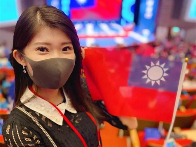 綠高雄議員吐「驚天幹話」正妹李明璇首吐心聲。(圖/翻攝自李明璇臉書)