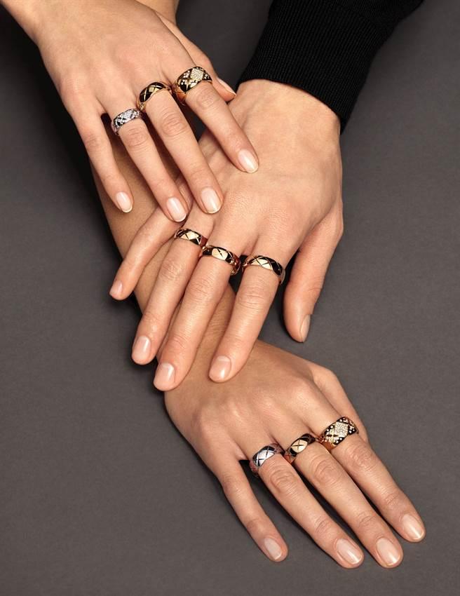 如同荷西‧瑪利亞‧賽特(José Maria Sert)、米西亞和露西(原名Roussadana Mdivani,來自喬治亞的雕刻家)的組合,Trio戒指形成名副其實的三人組合象徵。