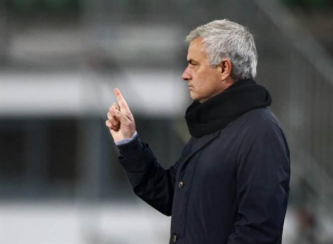 周日的德比對 José Mourinho 的熱刺來說正處於好時機(圖片來源︰達志影像)