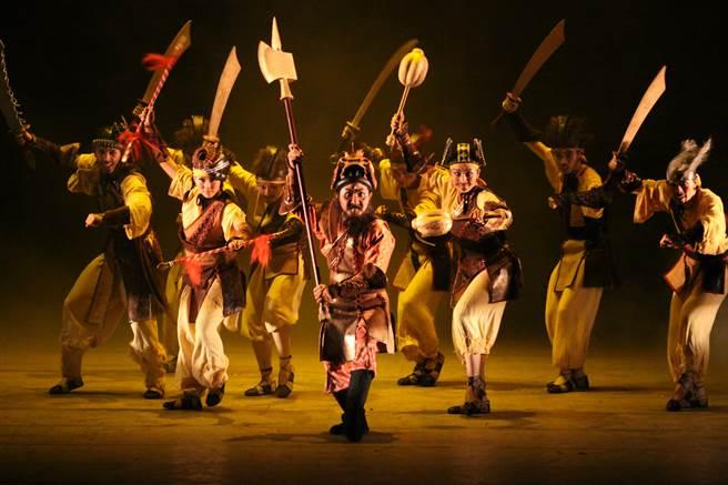 元旦當天下午3點,還有紙風車劇團帶來三國奇遇劇碼。(台中市政府文化局提供/陳淑娥台中傳真)