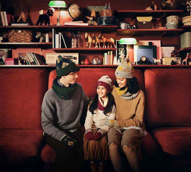 全系列商品共20款,包含男/女/童針織帽、針織手套、脖圍、襪子。(圖/品牌提供)