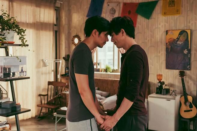 莫子儀與姚淳耀在《親愛的房客》為同志伴侶。(牽猴子提供)