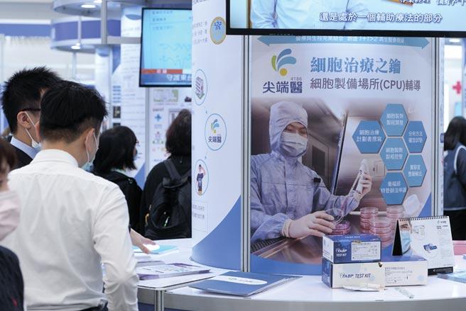 2020台灣醫療科技展3日舉行開幕儀式,匯集550家生技醫療產業廠商一同展出醫療與科技的結合應用。圖/王德為