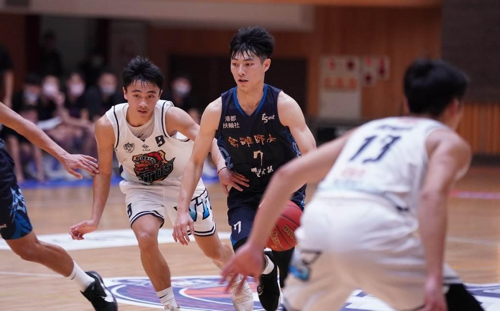 高雄師大後衛王偉丞最後關頭4罰2中,幫助球隊驚險贏球。(大專體總提供)