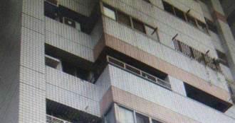 男子疑事業壓力大自家8樓墜落 倒臥社區中庭送醫不治