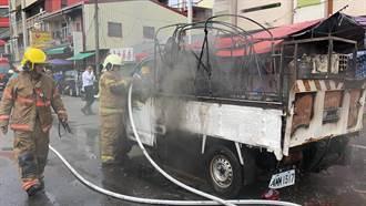 台南廟會放鞭炮火燒貨車斗 6人跳車9歲女童逃不及慘燒成焦屍