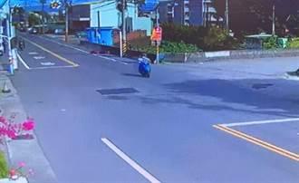 台6線公館2台機車擦撞  男騎士摔車送醫不治