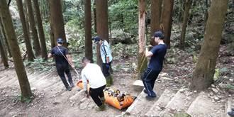 南庄登山意外連2起 1人遭落石砸傷1人昏倒命危
