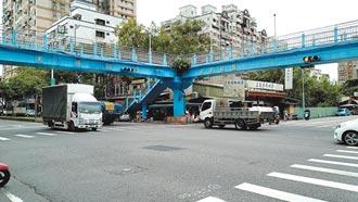 三峽光明陸橋 擬封1個月評估拆除