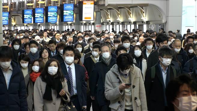 日本東京都的2019冠狀病毒疾病(COVID-19)疫情持續延燒,今天再創疫情爆發以來單日新高紀錄。(示意圖/shutterstock)