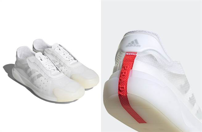 Adidas 將其專業技術帶入 Prada,為 Luna Rossa Prada Pirelli 帆船團隊所打造具有創新技術的 A+P LUNA ROSSA 21運動鞋。(圖/品牌提供)