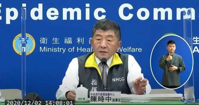 衛福部長陳時中表示將於耶誕節再舉辦記者會,說明「不願公布足跡」爭議。(圖/報系資料照)