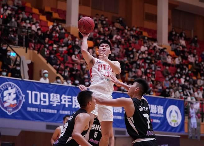 台灣師大黃建智攻下生涯新高26分。(大專體總提供)