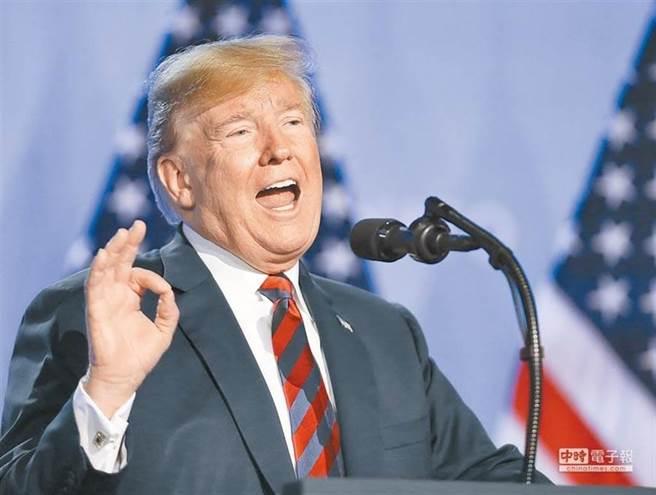 美國總統川普。(新華社資料照片)