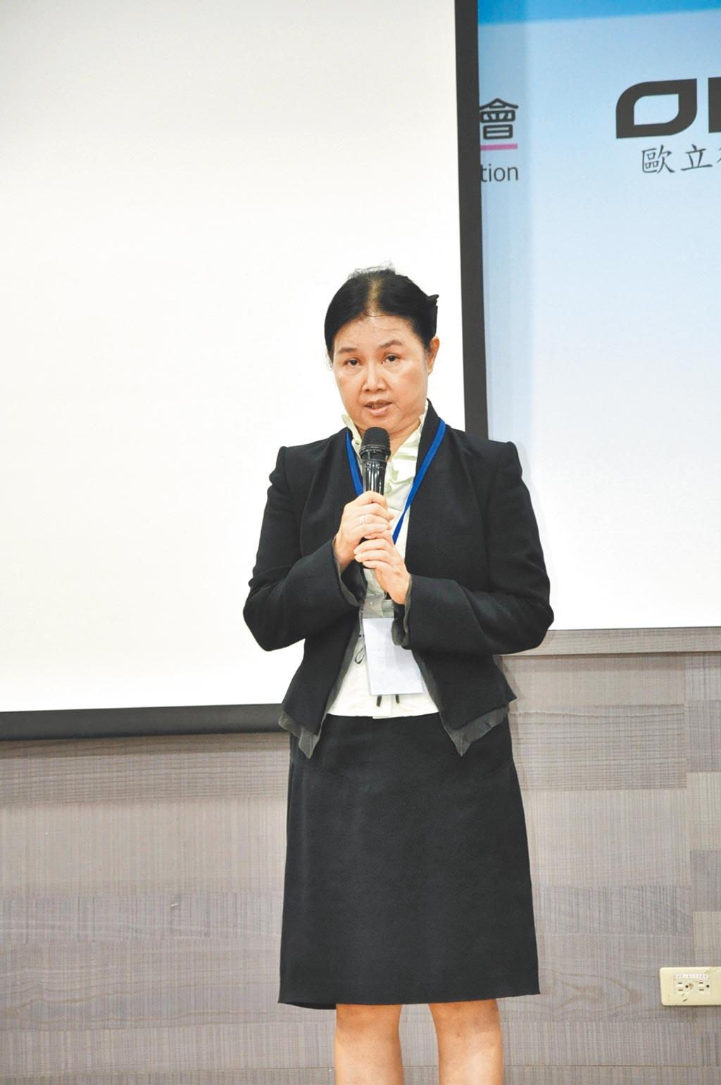 台灣生態危害健康管理學會理事長彭瓊芳。圖/台灣生態危害健康管理學會提供