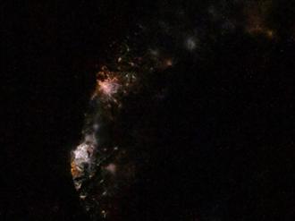 太空人拍台灣夜景羞「不是好照片」網嘆:形狀好清楚