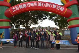 竹南鎮公所舉辦自行車輕旅行 親子出遊好時節