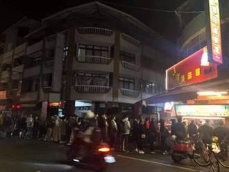 終於開葷!埔里人吃素7天 半夜解禁 「賣肉的」全被包圍