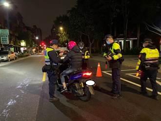 中和警交通大執法 加強防制事故發生