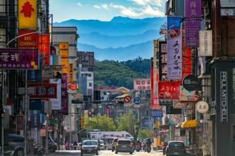 新竹街景現潑墨山水 網讚:美如仙境