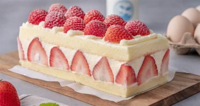 豪華極品草莓蛋糕。(圖/TARTINE唐緹提供)