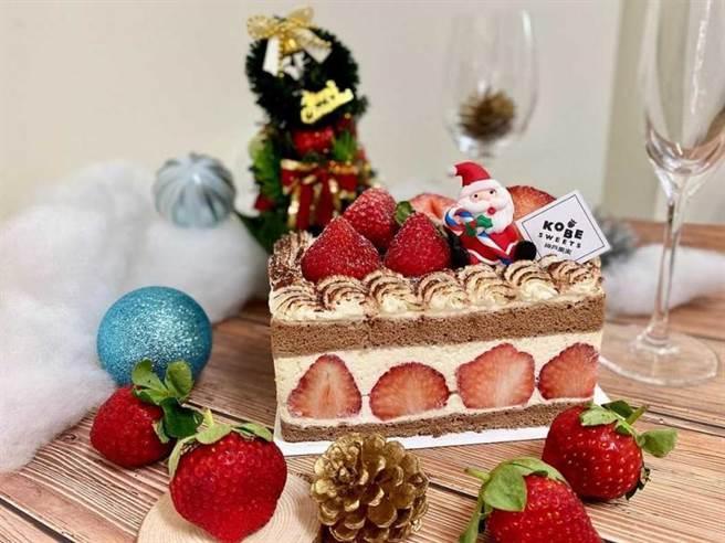 草莓巧克力鮮奶油蛋糕。(圖/Global Mall提供)