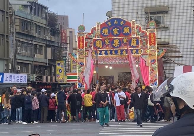 青山王祭典是萬華一年一度重要盛事(圖/黃瀞儀攝)