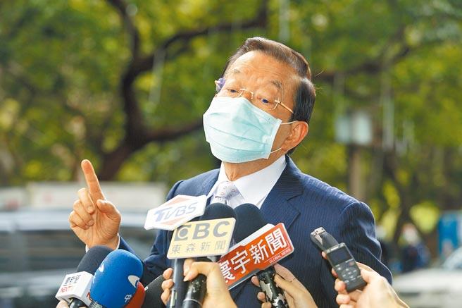 駐日代表謝長廷昨出席「2020高座台日交流大會」,指萊豬進口議題告一段落後會討論開放日本核食,認為這與加入CPTPP有關,台灣應考慮。(張鎧乙攝)
