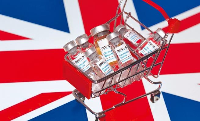 圖為美國輝瑞藥廠、德國BioNTech生技公司共同研發的新冠疫苗。(路透)