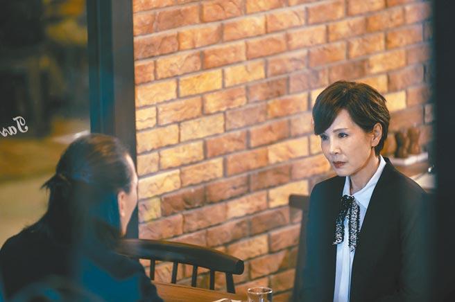 林秀君在《粉紅色時光》中婚姻觸礁,現實中相當幸福美滿。(TVBS提供)
