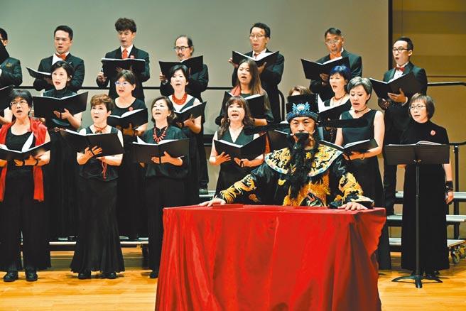 海歸人聲合唱團不畏疫情,日前照常舉辦音樂會。(海歸人聲合唱團提供)