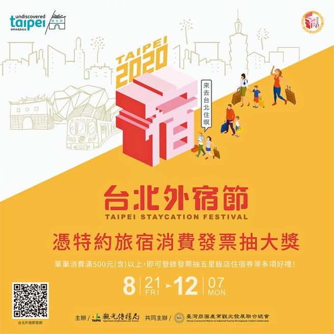 台北外宿節 消費加碼抽五星飯店住宿券 登錄只到12/7止