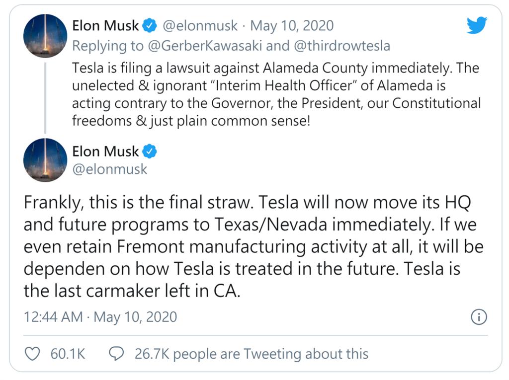 遠離加州!馬斯克真的可能搬家去德州,特斯拉總部會一起出走嗎?