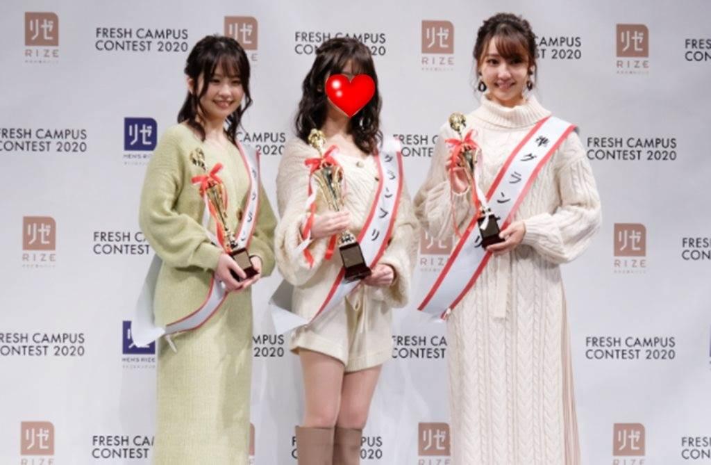 2020「日本最可愛大一生」選拔結果出爐。(圖/翻攝自日網)