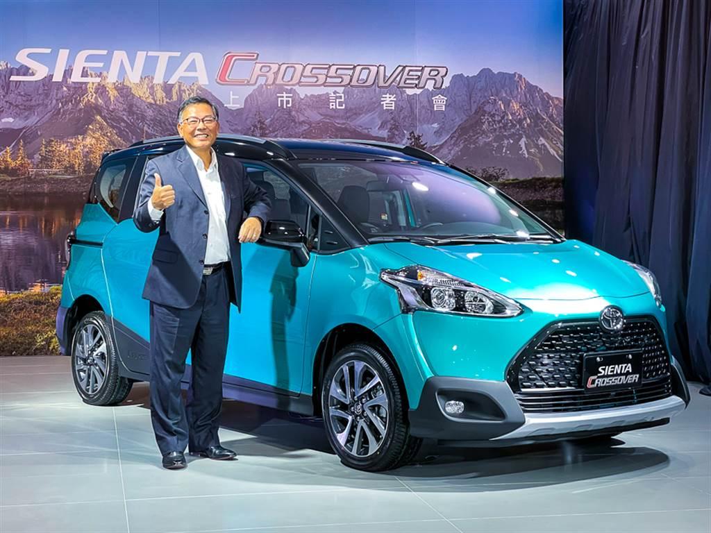 國民MPV也要跨界風,Toyota Sienta新增Crossover車型,5座版74.9萬/7座版82.9萬元。(圖為和泰汽車管理本部本部長劉松山)