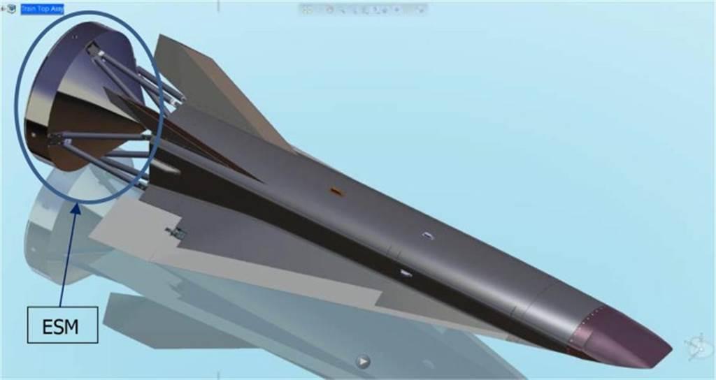 俄羅斯研究的高超音速飛行器其中一種概念模型。(圖/TsAGI)