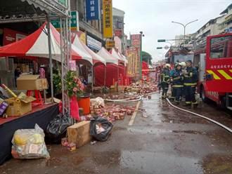 環河南路火警 警消撲滅火勢救出2人無傷亡