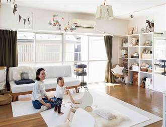 容量大的牆面收納櫃超好用!即使房間少,也能讓環境寬敞舒適