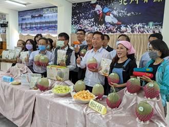 天旱缺水產量減4成 台南北門洋香瓜「選美」周六登場