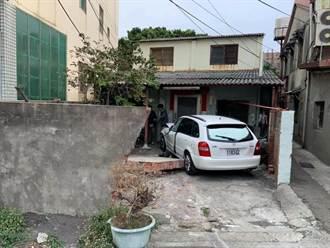 台中男駕車衝撞民宅 倒了半片牆