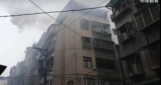 內湖頂樓加蓋冒濃煙  警消迅速撲滅無人受傷