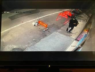 光天化日偷飲料店愛心捐款箱 警已鎖定身份追緝中