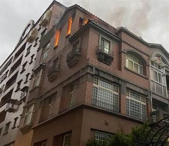 蘆竹住宅神明廳火警濃煙密佈 幸無人傷亡