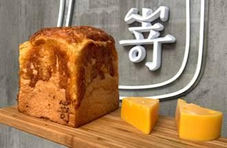 香濃厚起士加碼法芙娜巧克力 日本第一生吐司插旗中山