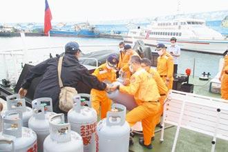 蘭嶼停航12天斷糧 海巡緊急運補