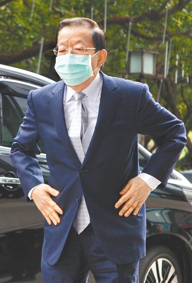 謝長廷表示,是否開放核食要參考美歐加的作法,而非中國或反日國家的做法。(張鎧乙攝)