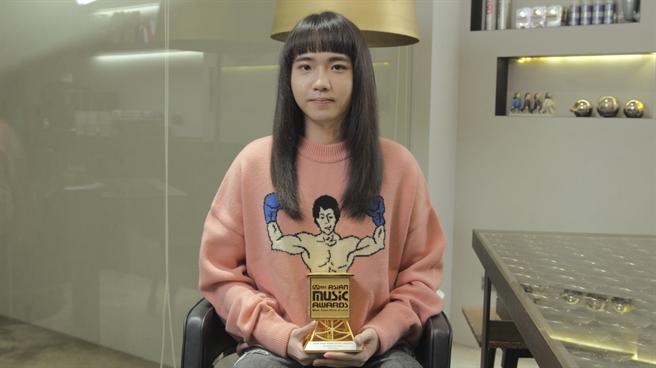 持修勇奪MAMA亞洲華語新人獎。(野聲音娛樂提供)