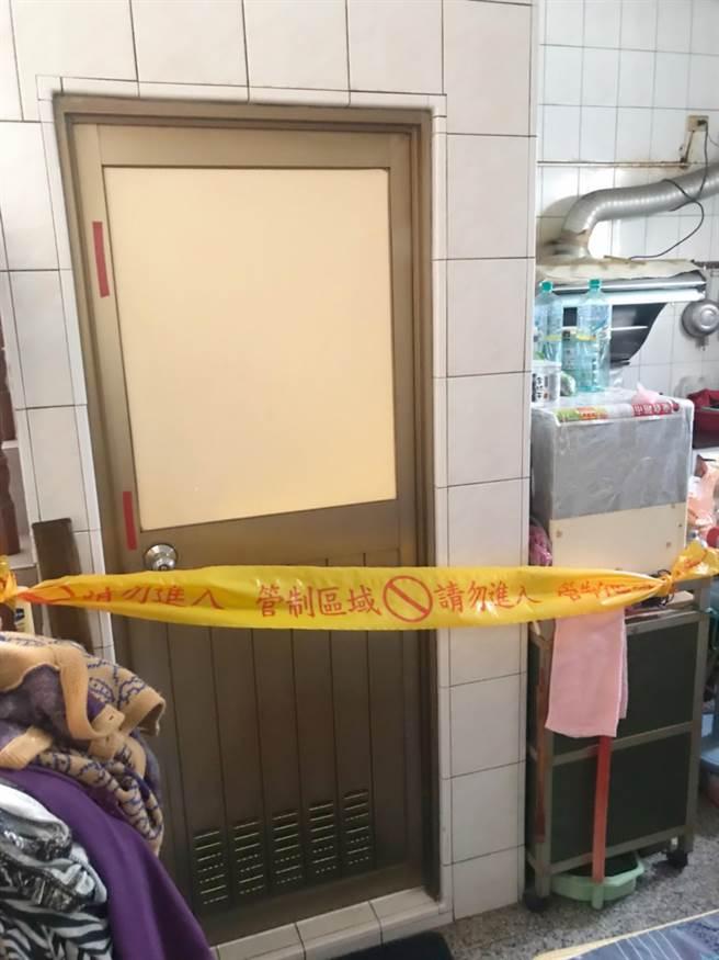 19歲呂女在自家廁所產子,最後孩子疑因沒氣息呂父包裹後,丟入前鎮河。(柯宗緯翻攝)