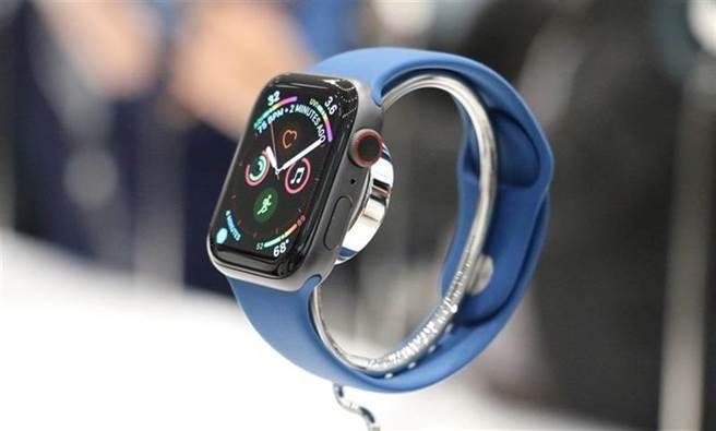 Apple Watch Series 4。(黃慧雯攝)